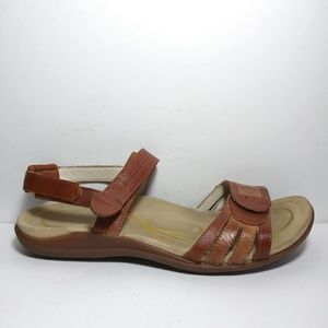 85c8889cf Abeo Bryn Brown Adjustable Strap Sandals Size 9N